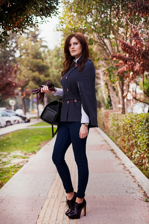 the bow-tie jeans shirt bag shoes