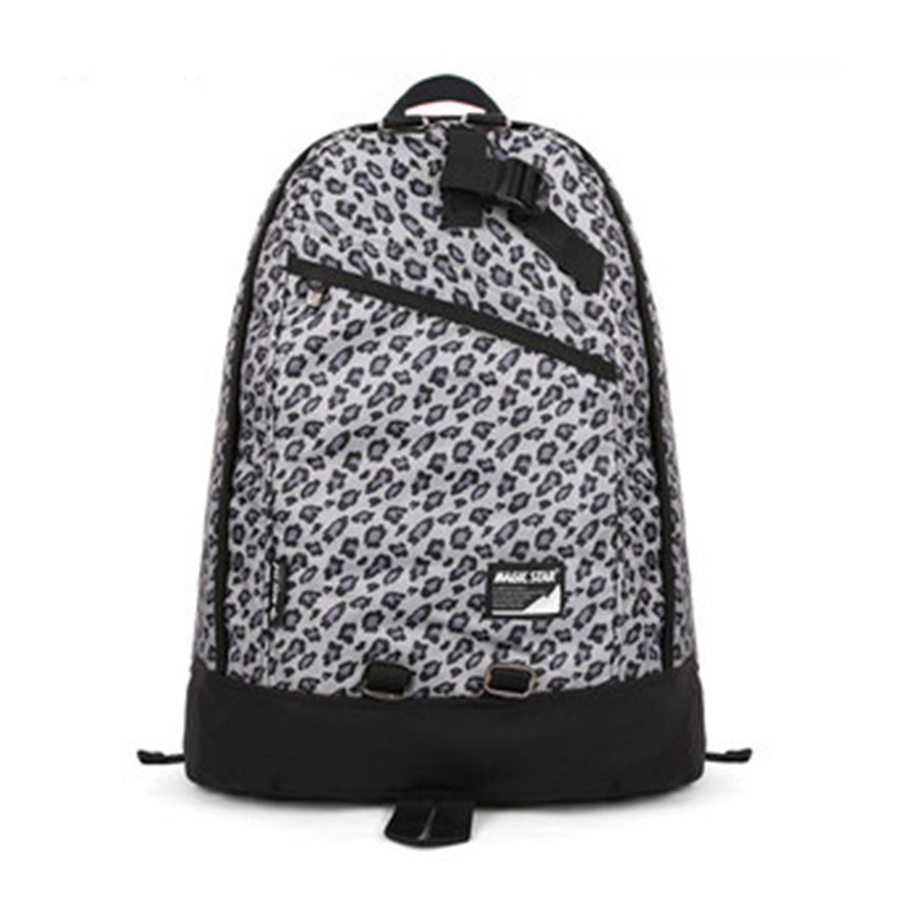 [grxjy520205]Stylish Leisure Contrast Color Leopard Print Backpack Bag on Luulla