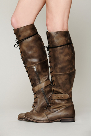 free people womens landmark lace up boot