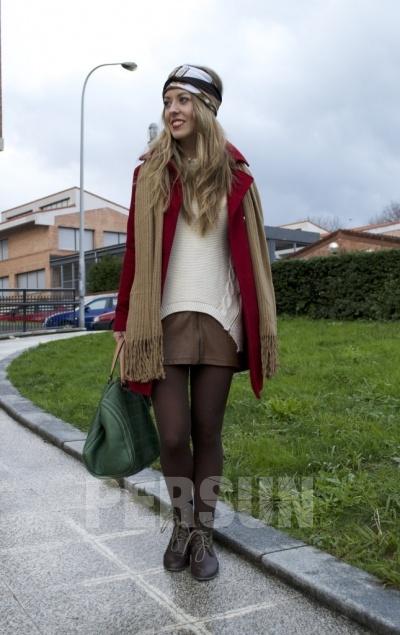 Inclined Zipper Design Loose Sweater [FKBJ10276] - PersunMall.com