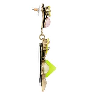 ASOS | ASOS Lime Nation Earrings at ASOS