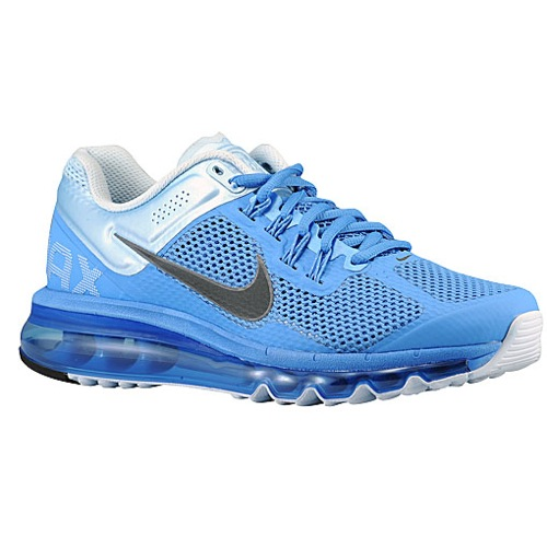 Nike Air Max   2013 - Women's - Running - Shoes - Distance Blue/Chambray Blue/Dark Grey