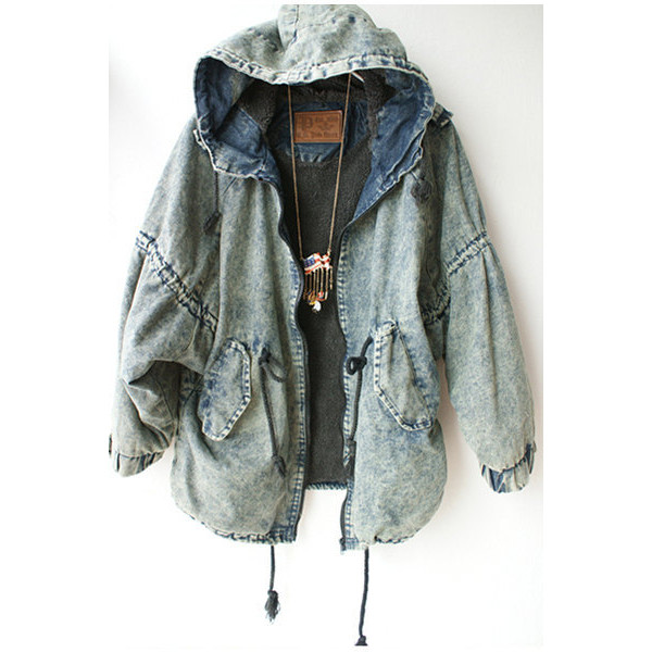 Denim jacket 90s - Polyvore