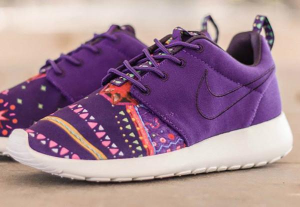 shoes shoes nike sway nike roshe run purple shoes womens running shoes