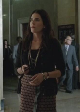 skirt geometric wrap karla olivares souza how to get away with murder