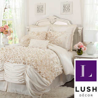 L'Amour Eternel Lucia 4-piece Contemporary Comforter Set | Overstock.com Shopping - The Best Deals on Comforter Sets