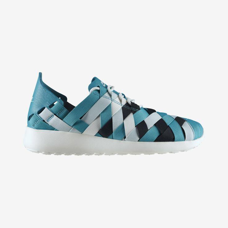 Chaussures Nike Roshe Run Woven Bleu de Tal | shozap